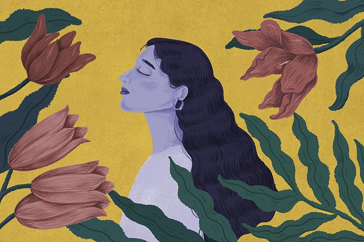profile image of woman