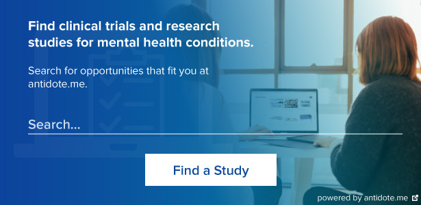 Find clinical trials and research studies at antidote.me