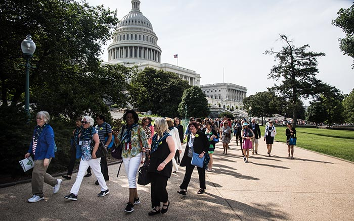 activists on capitol hill